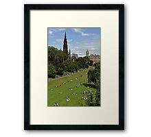 Summer Afternoon in the City Framed Print