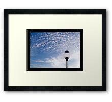 Marshmallow Sky Framed Print