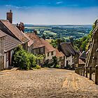 Gold Hill Shaftesbury by mlphoto