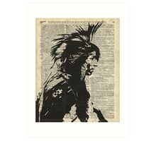 Indian,Native American,Aborigine Art Print