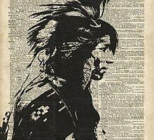 Indian,Native American,Aborigine by DictionaryArt