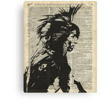 Indian,Native American,Aborigine Canvas Print