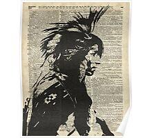 Indian,Native American,Aborigine Poster