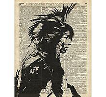 Indian,Native American,Aborigine Photographic Print