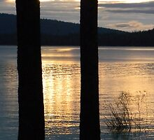 Crescent Lake Sunrise_1 by Syd Bates