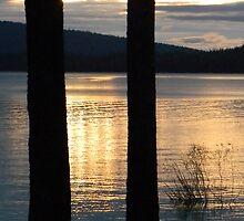 Crescent Lake Sunrise_1 by Syd Bates