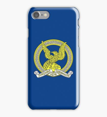 Badge of the Air Corps - An tAerchór (Ireland) iPhone Case/Skin