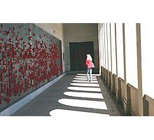 Remembering, Canberra War Memorial Photographic Print