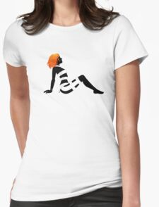 Leeloo Dallas Mudflap Womens Fitted T-Shirt