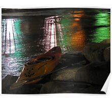 Kayak-o-lantern Poster