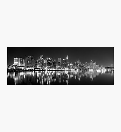 The Dark side of Town Photographic Print