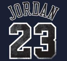 Jordan 23 Jersey Worn Kids Clothes
