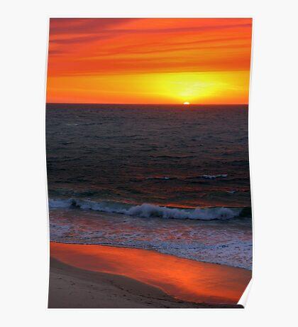 Ocean on Fire Poster