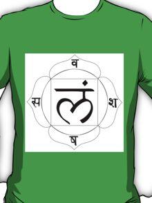root chakra Muladhara T-Shirt