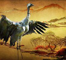 The Crane  by Irene  Burdell
