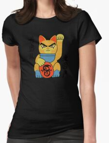 Lucky ThunderCat Womens Fitted T-Shirt