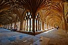The Cloisters - Canterbury Cathedral. by DonDavisUK