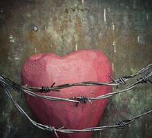 Trapped heart by Maria Heyens