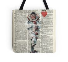 Joker from Playing Cards,Clown,Circus Actor Tote Bag
