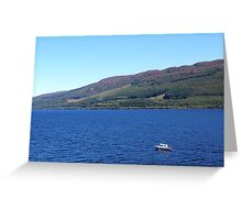 On the Loch Greeting Card