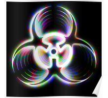 Biohazard - Holographic Poster