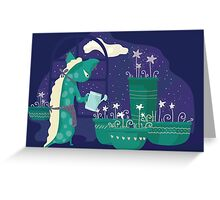 Stars garden. Greeting Card