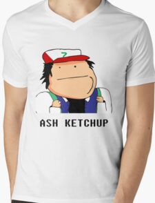 Ash Ketchup Mens V-Neck T-Shirt