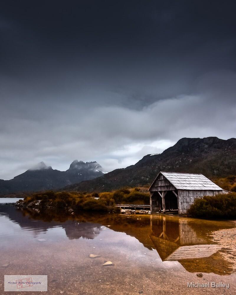 Dawn at Dove Lake by Michael Bailey