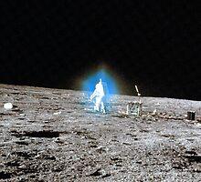 Blue Halo - Alan Bean - Apollo 12 by Bundjum