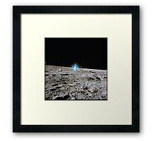 Blue Halo - Alan Bean - Apollo 12 Framed Print