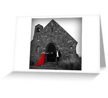 Wedding @ Lake Tekapo Greeting Card