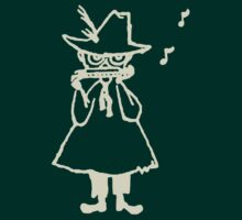 Snufkin Outline (White) by Snufkin