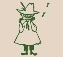 Snufkin Outline (Green) by Snufkin