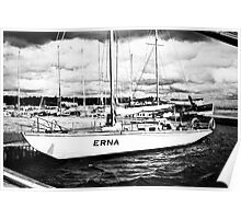 Erna, The Boat. Poster