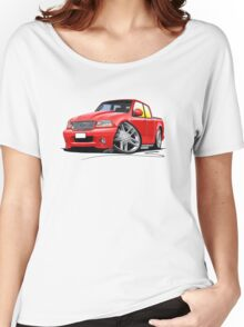 Ford F-150 Red Women's Relaxed Fit T-Shirt