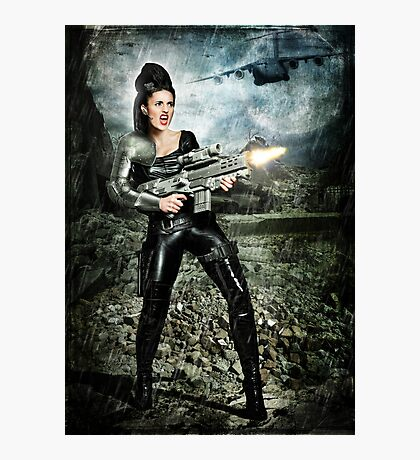 Lycan Slayer Photographic Print