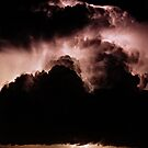 Night storm at sea by Duncan Waldron