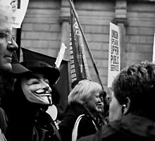 Anonymous goes to London by James Drew