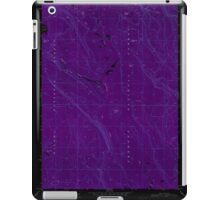 USGS Topo Map Oregon Location Butte 280558 1968 24000 Inverted iPad Case/Skin