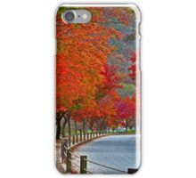 A Red Road iPhone Case/Skin