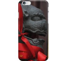 Chinese Lion III iPhone Case/Skin