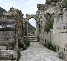 Turkey - Ephesus Arch by soulimages