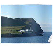 Bressay Lighthouse, Shetland Isles Poster