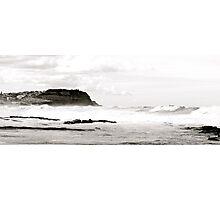 White Surf At Bar Beach Photographic Print