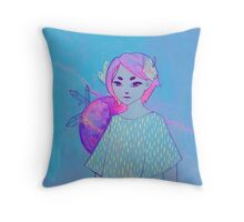 Arctic Sage Throw Pillow