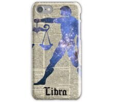 Libra Scales Zodiac Sign,Horoscope,Astrology,Astronomy iPhone Case/Skin
