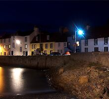 St Monans at Night by GillBell