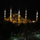 Turkey - Blue Mosque by Night by soulimages