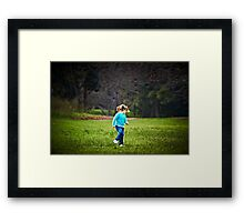 Surprise Framed Print
