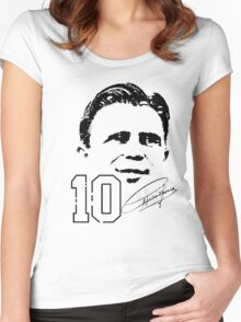 Ferenc Puskás Women's Fitted Scoop T-Shirt
